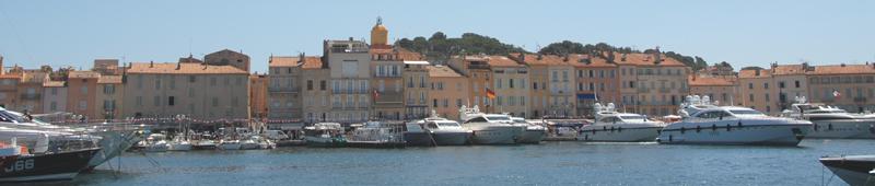 Gezellig haven Saint Tropez
